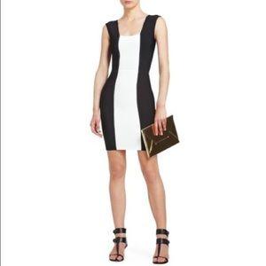 BCBG Bandage Dress - Black & White - Size XS